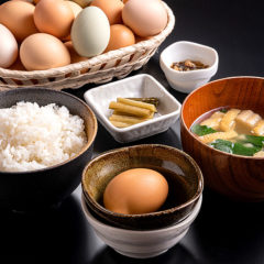 卵かけご飯定食